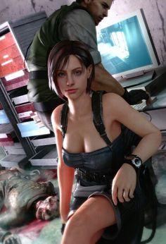 (Jill Valentine). Resident Evil 3: Nemesis.