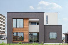3つのboxをつなぎ合わせた シンプルな外観 2020 ホームウェア