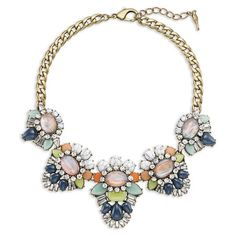 Heritage Blossom Statement Necklace  Save $25 on this necklace with code: RAFFLEKDHDFSGU  at www.iheartshinyobjects.com