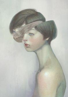 Surreal Portraits by Lek Chan | Inspiration Grid | Design Inspiration