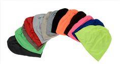 $3.72 - Nice Winter Hats for Women Beanies Cotton Blended Hip Hop Caps Slouch Warm Hat Festival Unisex Turban Cap Solid Color Bonnet Hats - Buy it Now!