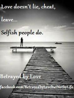 How to live with selfish husband