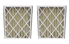 2 Pleated HVAC Filters for Skuttle & Trion Systems, MERV-8 Rating | Part # 000-0448-003