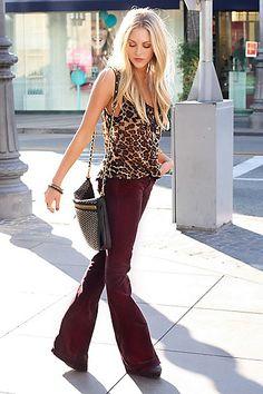 30 Stylish Leopard Print Outfits For Girls - Stylishwife Fashion Prints, Love Fashion, Fashion Beauty, Autumn Fashion, Womens Fashion, Looks Style, Style Me, Leopard Print Top, Look Chic