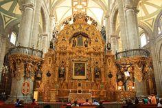 Catedral de la Asunciòn de la Virgen Maria, Mèxico.