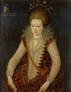 1608 Elizabeth d'Oyley aged 16 by Robert Peake (Norfolk Museums, Norfolk UK) | Grand Ladies | gogm