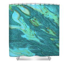 Apparent Shower Curtain by Marnie Patchett