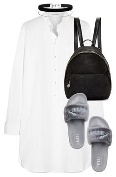 """Untitled #2844"" by elenaday ❤ liked on Polyvore featuring Tomas Maier, Puma, STELLA McCARTNEY and Miss Selfridge"