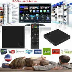 InstaBox X2 Allwinner Android 4K TV Box 1+8G Media Player 1080P Wifi HDMI KODI