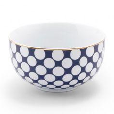 Polka Dots Soup Bowl