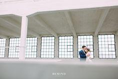 Bride & groom #Industrial #vsco #love #bride #groom #netherlands www.bemindfotografie.nl