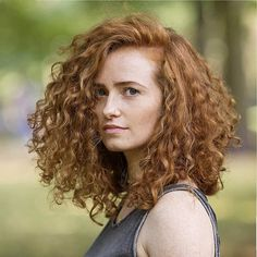 Redheads Magazine - Photographed Olga and her #curly #redhair over the weekend. #hamburg #redhead #freckles