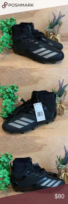 timeless design ba17b 128f1 Adidas Adizero 5-Star 7.0 Mid Football Cleats Size 9.5 NEW (NEVER WORN)