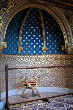 Château de Blois: Chambre du Roi Henri III