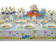 Noah's Ark Baby Shower Theme - Noah's Ark Party Supplies