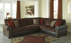 Ashley Arlette Truffle sectional sofa in Houston