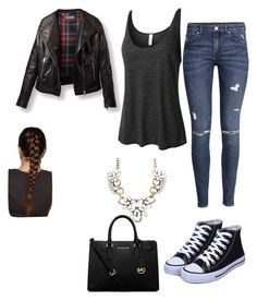 """""""16th may-2015"""" by h-peeringa on Polyvore featuring LE3NO, H&M and MICHAEL Michael Kors"""