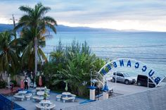 Buccaneer Beach Hotel / UWI Mona Werstern Jamaica Campus Hall of Residence. The lovely view from the balcony in Montego Bay Jamaica