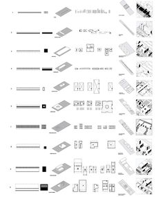 Ungers 2: Building Typology diagrams