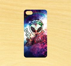 Alien Stay Rad    Each case is made in California using a state of the art sublimation process that provides a print that looks great!    The case