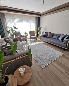 Dark Living Rooms, New Living Room, Living Room Interior, Living Room Decor, Home Room Design, Living Room Designs, Luxe Decor, Home Curtains, House Rooms