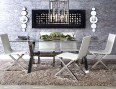 Chic Combo - Axis Dining Collection from Z Gallerie