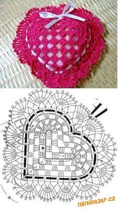 Best 11 crochet freecrochetpatterns crochetpatterns – Page 515099276126849755 – SkillOfKing.Com - Her Crochet Vintage Crochet Patterns, Crochet Flower Patterns, Crochet Stitches Patterns, Crochet Flowers, Crochet Sachet, Crochet Gifts, Crochet Diagram, Crochet Chart, Crochet Videos