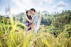Bali Pre Wedding Shoot in Ubud Rice Field by Bali Pixtura