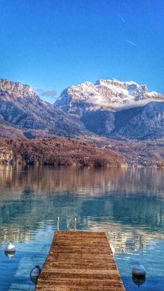 La Tournette depuis Sevrier Bergen, Belle France, Annecy France, Lacs, Rando, Alpine Lake, French Alps, Mural Ideas, Rhone