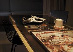 tavolo nature by #arredok con robusto #pianoinmassello di noce ... - Consolle Byblos Tavolo Allungabile Legno Massello