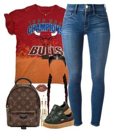 """School"" by oh-aurora ❤ liked on Polyvore featuring Louis Vuitton, Christian Dior, Frame Denim, Tiffany & Co., Puma, Repossi, Lime Crime, polyvorecommunity, polyvoreeditorial and styledbyA"