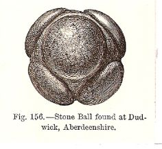 Scottish Neolithic carved stone balls #03