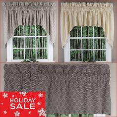 23 Jabot Swag Kitchen Curtains Ideas Kitchen Curtains Curtains Valance