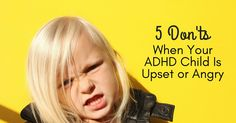 Parents dread meltdowns. However, parents of children with ADHD may face more meltdowns than other parents. Check of these tips on coping with a meltdown.