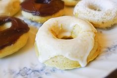 You could argue that this mini angel food cake recipe is really a doughnut recipe. They're baked in a doughnut pan so I can see your point. However, the recipe is a minor adaptation of our egg-wh...