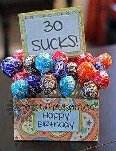 Funny birthday present