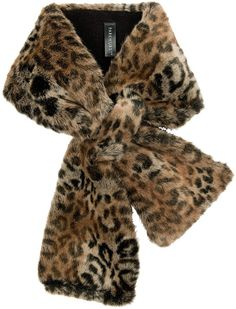Parkhurst Faux-Fur Scarf (For Women). Style Curator · Animal Print Scarves d9f7c09b9