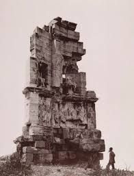 Philopappos Monument dedicated to Gaius Julius Antiochus Epiphanes Philopappos, Greece, 1890 Castle Ruins, Building Structure, London Hotels, Bucharest, Futuristic, Statue Of Liberty, Mount Rushmore, 19th Century, Cathedral