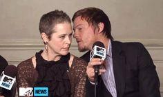 Cute!  Daryl & Carol  omg! kiss already!!!