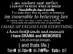 life quotes for teens | Quotes :: Life of a Teenage Girl picture by DecadentDamsel ...