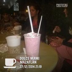 pasteles sabrosos café no muy bueno, en Mazatlán