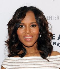 kerry washington makeup  - love this natural look on her