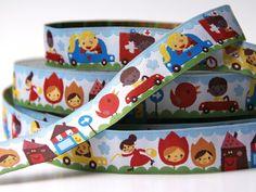 woven ribbon 'en route' by ByBora on Etsy, £1.60