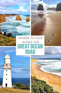Australia's Great Ocean Road is hailed as one of the world's most epic road trips, passing by roaring oceans and golden beaches before ending at the iconic Twelve Apostles. Here are some of the best spots to stop along the way. Australia Travel, Western Australia, Vacation Trips, Vacations, Backpacking Tips, Travel Goals, Travel Pictures, Trip Planning, Family Travel