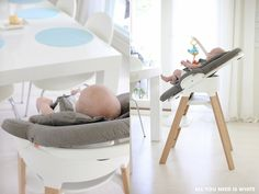 Stokke Steps Bouncer + High Chair system brings baby to the family table from Day ! – via allyouneediswhite.indiedays.com/20