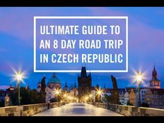Ultimate Czech Republic Travel Guide - Bobo and ChiChi Prague Travel, Countries To Visit, Central Europe, Czech Republic, Where To Go, The Locals, Travel Guide, Road Trip, The Incredibles
