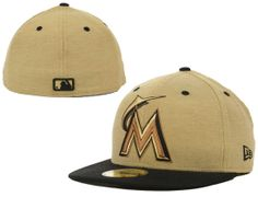 Miami Marlins C-Top 59Fifty Fitted Cap by NEW ERA x MLB Fitted Baseball Caps 593b06c784ff