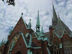 Can't wait to visit Sweden next summer! @ Oscar Fredrik Church (Gothenburg, Sweden)