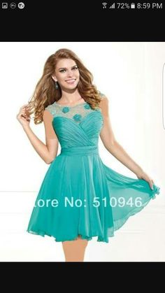 Latest Style ༼ ộ_ộ ༽ A-line Scoop Neck Open Back Lace ⓪ Appliqued Turquoise Homecoming Dresses 2014 Hot Sale ! Latest Style A-line Scoop Neck Open Back Lace Appliqued Turquoise Homecoming Dresses 2014 Turquoise Homecoming Dresses, Homecoming Dresses 2014, Cheap Formal Dresses, Unique Dresses, Beautiful Dresses, Elegant Dresses, Backless Prom Dresses, Girls Party Dress, Party Dresses