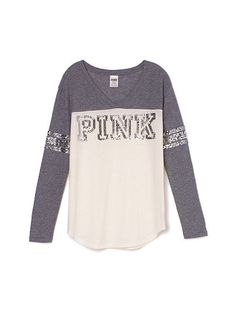VS PINK Athletic Tee in Berry | PINK by Victoria Secret ...